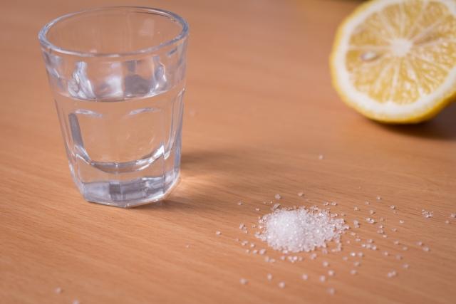 塩を取り入れる